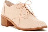 Louise et Cie Finch Snake Embossed Oxford Loafer