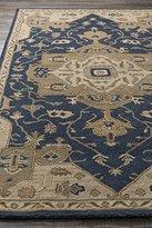 Surya CAE1145-912 Hand Tufted 100-Percent Wool Classic Area Rug, 9-Feet by 12-Feet