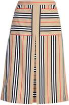 Burberry Checked Skirt
