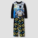 Batman Boys Superman Pajama Set - Black