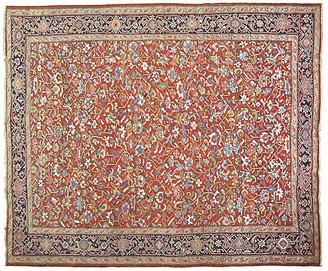 One Kings Lane Vintage Antique Persian Heriz Rug - 9'8'' x 12' - J & D Oriental Rugs - red/blue/multi
