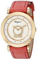 Salvatore Ferragamo Women's FQ4240015 Minuetto Analog Display Swiss Quartz Pink Watch
