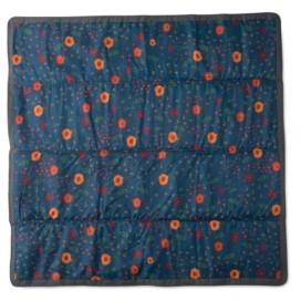 Little Unicorn Midnight Poppy 5x5 Outdoor Blanket