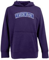 Antigua Men's Washington Huskies Signature Pullover Fleece Hoodie