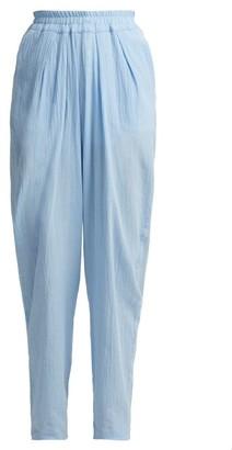 ALBUS LUMEN Chico Semi-sheer Trousers - Light Blue
