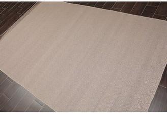 "Imasdun Geometric Handmade Flatweave Wool Taupe Area Rug Ebern Designs Rug Size: Runner 2'6"" x 12'"