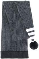 Thom Browne pompom knitted long beanie
