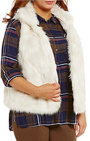 Gibson & Latimer Plus Faux-Fur Vest