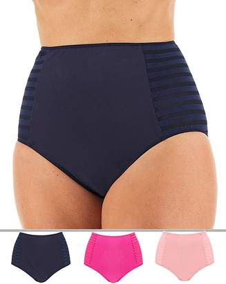 Pretty Secrets 3 Pack Tummy Tamer Full Fit Briefs