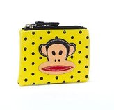 Paul Frank Coin Purse Card Purse Wallet One Size Lime Black Polka Dots