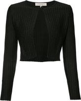Carolina Herrera longsleeve one-button cardigan