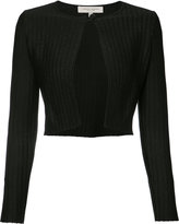 Carolina Herrera lurex knit cardigan - women - Silk/Cotton/Polyester/Polyimide - XS