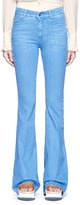Stella McCartney High waist flare denim pants