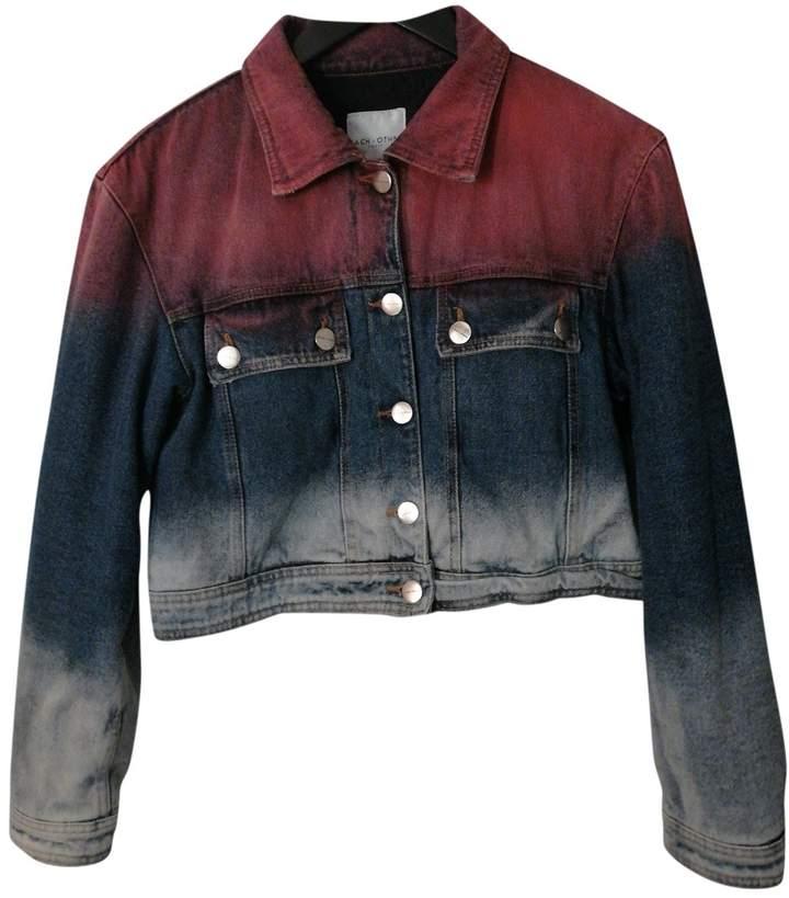 Each X Other Each X Multicolour Denim - Jeans Leather Jacket for Women