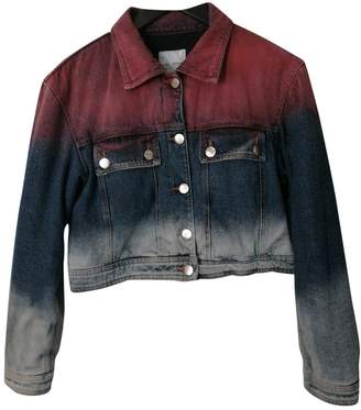Each X Other Each X Multicolour Denim - Jeans Leather Jacket for Women