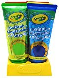 Crayola Bathtub Fingerpaint Soap 6 Ounce Assorted (6 Pieces) Display (177ml)