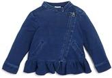 Splendid Infant Girls' Denim Look Knit Jacket - Sizes 3-24 Months