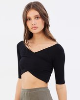 Nude Lucy Montrose Crop Top