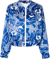 Odeeh mermaid bomber - women - Cotton/Polyester - 36