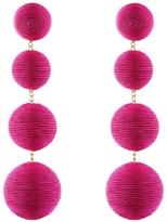 Rebecca de Ravenel Les Bonbons Fuchsia Earrings