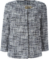 Fay tweed jacket - women - Cotton/Acrylic/Polyamide/Cupro - S