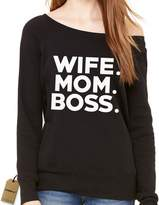 Expression Tees Slouchy Wife. Mom. Boss. Ladies
