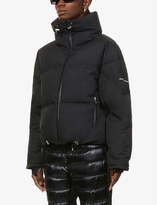 Cordova Mont Blanc funnel-neck shell-down jacket