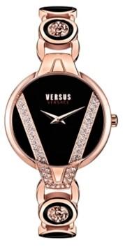 Versus By Versace Versus Women's Saint Germain Petite Rose Gold-Tone Bracelet Watch 32mm