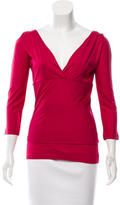 Malo Long Sleeve V-Neck Top w/ Tags