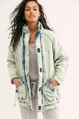 We The Free Real Games Denim Parka by at Free People