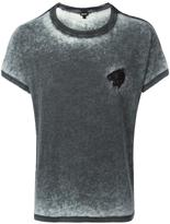 Just Cavalli tiger embroidery T-shirt - men - Cotton/Polyester - S