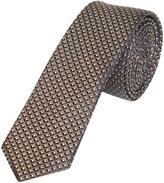 Oxford Silk Tie Pttn Skny