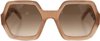 Celine Antique Pink Oversize Sunglasses