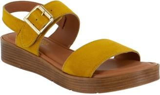 Bella Vita Adjustable Leather Sandals - Tay-Italy