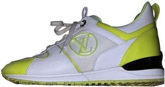Louis Vuitton Run Away Yellow Patent leather Trainers