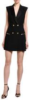 Versace Sleeveless Blazer Dress