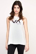 RVCA Juniors Crystalized Halter Neck Graphic Tank