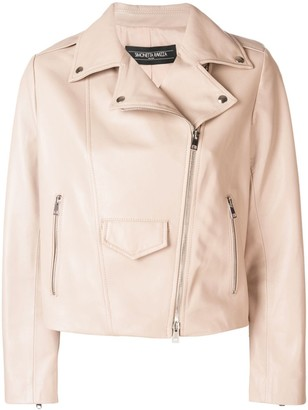 Simonetta Ravizza cropped biker jacket