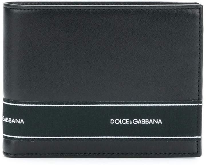 Dolce & Gabbana bi-fold logo wallet
