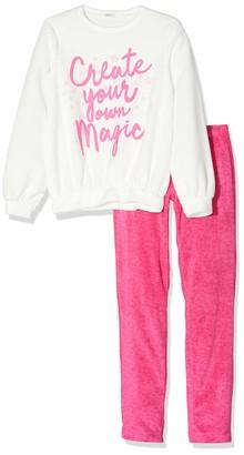 Undercolors of Benetton Girl's Lutk Fashion 2nd Del Pyjama Set