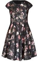 City Chic Vintage Peony Dress