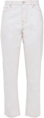 Paul Smith Cropped High-rise Slim-leg Jeans