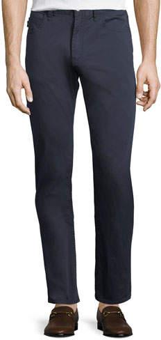 Emporio Armani Basic Five-Pocket Sateen Pants