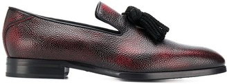 Jimmy Choo Foxley textured loafers