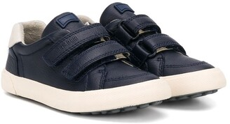 Camper Round Toe Touch Strap Sneakers