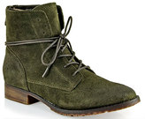 Steve Madden Rawling - Suede Tie Boot