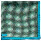 Robert Talbott Dot Silk Pocket Square