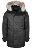 Nobis Yatesy Long Parka Jacket Grey