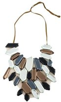Vera Wang Mosaic Glass Statement Necklace