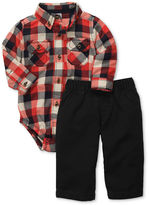 Carter's Baby Set, Baby Boys 2-Piece Plaid Bodysuit and Pant Set